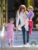 Isla Fisher, Olive Baron Cohen, Elula Baron Cohen Cannes, France