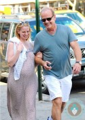 Kelsey Grammer, Kayte Walsh pregnant NYC