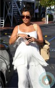 Kourtney Kardashian shopping at Bel Bambini LA