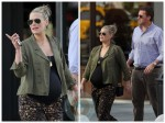 Molly Sims and Scott Stuber out in NYC