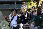 Nicole Richie, Joel Madden, Sparrow Madden, Harlow Madden @ the Australia Zoo
