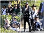 Nicole Richie, Joel Madden, Sparrow Madden, Harlow Madden, Australia Zoo