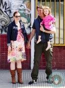 Pregnant Alyson Hannigan, Alexis Denisof, Satyana Denisof Venice Beach