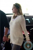 Pregnant Drew Barrymore Medical Center LA