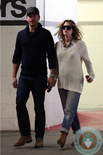 Pregnant Drew Barrymore, Will kopelman doctors visit LA