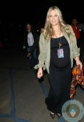 Pregnant Molly Sims Leaving Coldplay concert in LA