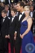 Pregnant Reese Witherspoon, Jacob Lofland, Matthew McConaughey,Tye Sheridan, MUD premiere Cannes 2012