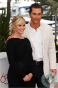 Pregnant Reese Witherspoon, Matthew McConaughey at a photo call for the film 'Mud'