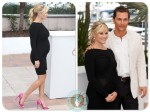 Pregnant Reese Witherspoon and Matthew McConaughey at a photo call for the film 'Mud', Cannes 2012