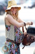 Pregnant Sienna Miller out in London