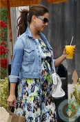 Pregnant Vanessa Minnillo Lachey out in la