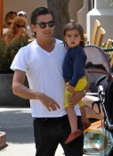Scott and Mason Disick Malibu Park