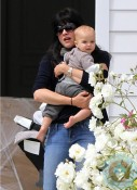 Selma Blair, son Arthur Bleick in LA