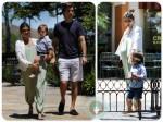 pregnant Kourtney Kardashian, Scott Disick, Mason Disick, Park LA