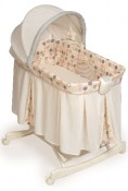 recalled KB039-CMR1- Tender Vibes Deluxe Rocking Bassinet (polka dot cover)