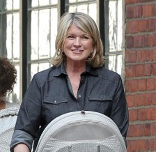 Martha Stewart Steps Out With Her Grandkids!