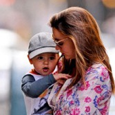 Miranda Kerr and Son Flynn Stroll in The Big Apple