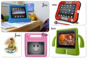 5 kid friendly iPad cases