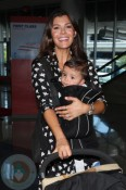 Ali Landry with son Marcelo Monteverde LAX