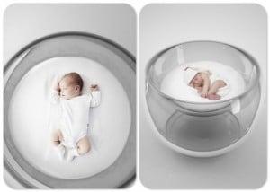 Baby bubble bed lana agiyan