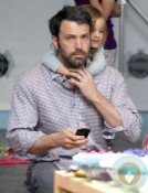 Ben Affleck, Seraphina Affleck fashion camp Santa Monica