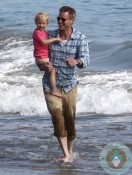 ERic Dane, Billie Beatrice, Malibu beach