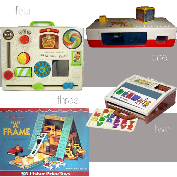 Fisher Price Vintage Toys Growing Your Baby
