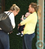 Hilary Duff, Luca Comrie shopping on Robertson