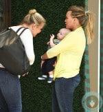 Hilary Duff, Luca Comrie shopping on Robertson