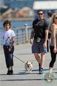 Hugh Jackman, Oscar Jackman, Walk NYC