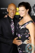 James Achor and Pregnant Heather Tom at the 2012 Daytime Emmy Awards