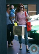 January Jones with son Zander