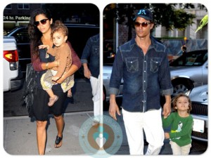Matthew McConaughey, Levi, Camila Alves, Vida, NYC