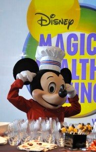 Mickey Mouse magic of healthy living