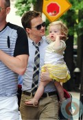 Neil Patrick Harris, daughter Harper NYC