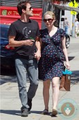 Pregnant Anna Paquin and husband Stephen Moyer,LA