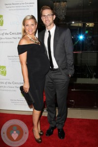 Pregnant Jessica Capshaw and Christopher Gavigan red carpet