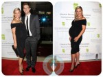 Pregnant Jessica Capshaw with Christopher Gavigan at United Friends of Children event