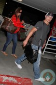 Pregnant Vanessa Lachey Minnillo, Nick Lackey, LAX