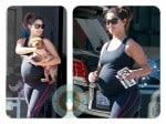 Pregnant Vanessa Lachey out in LA