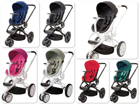 The stroller includes a shopping basket sun canopy ... & Featured Review: Quinny Moodd Stroller