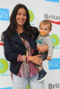 Rebecca Minkoff and son Luca 2012 Baby Buggy Bedtime Bash