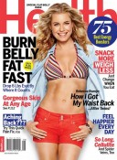 Rebecca Romijn cover Health Magazine July August 2012