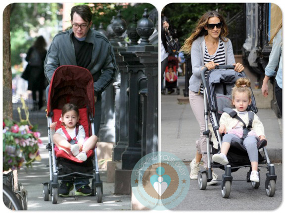 SJP and Matthew Broderick Step Out With Their Twins!