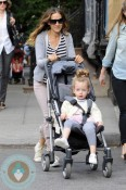 Sarah Jessica Parker, daughter Tabitha NYC Cybex
