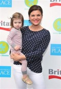 Tiffani Thiessen, Harper at 2012 Baby Buggy Bedtime Bash