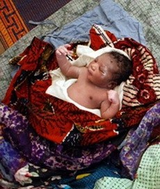abandoned baby in Ghana