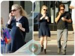 pregnant Anna Paquin with Stephen Moyer