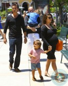 pregnant Kourtney Kardashian, Scott Disick, Mason Disick, Calabasas