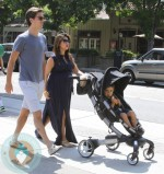 pregnant Kourtney Kardashian, Scott Disick and Mason Disick Origami